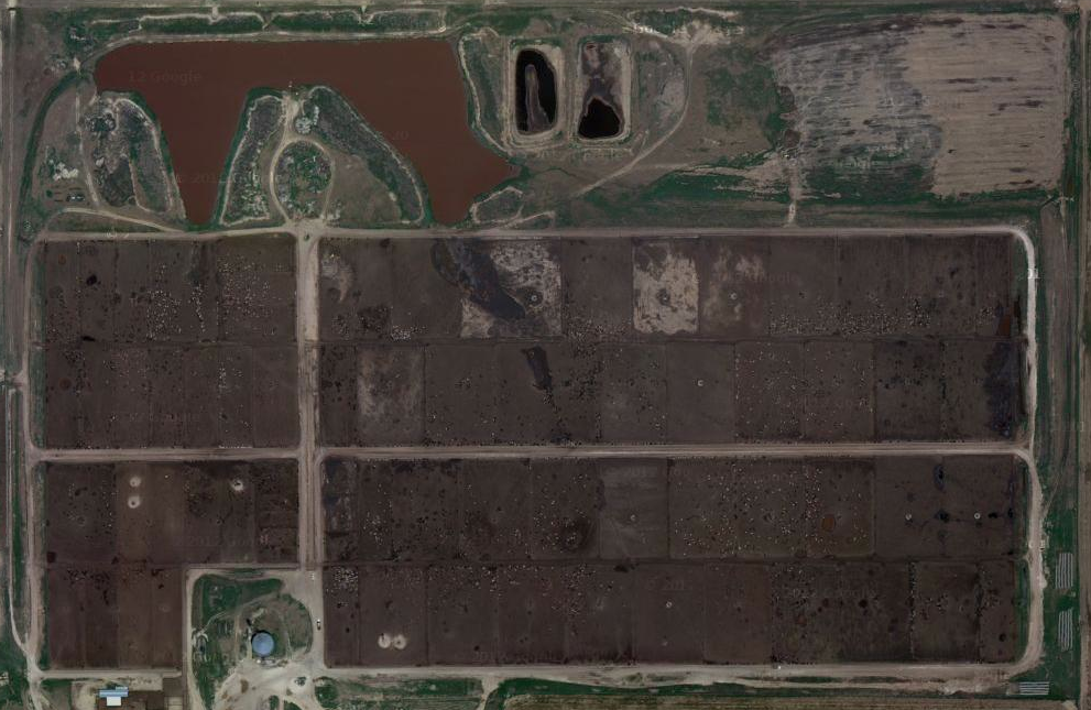 Feedlot northeast of Amarillo